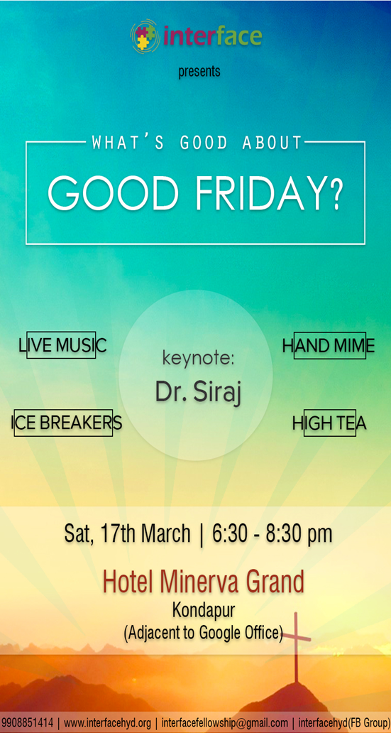 Good Friday 2018 Flyer
